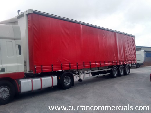 2007 sdc 13.7m curtainsider trailer for sale