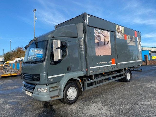 2013 daf lf 55 180 14 ton sleeper cab 25ft box or chassis cab