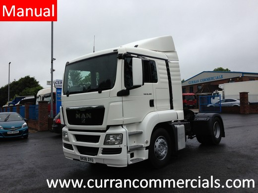 2008 man tgs 18.400 4x2 tractor unit for sale