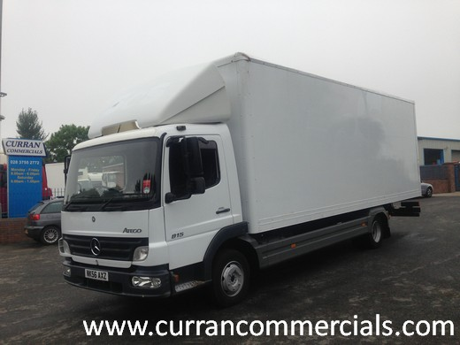 2006 mercedes 815 atego 24ft grp box for sale