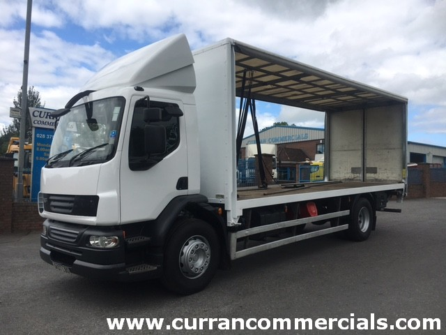 2007 daf lf 55 220 18 ton curtainsider with tail lift for sale