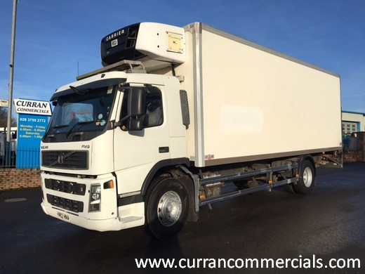 2002 volvo fm 260 4x2 18 ton fridge for sale
