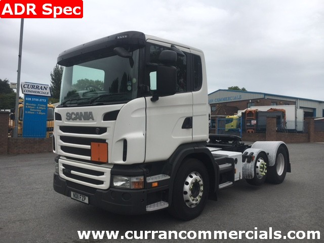 2011 scania g400 6x2 petrol spec tractor unit for sale