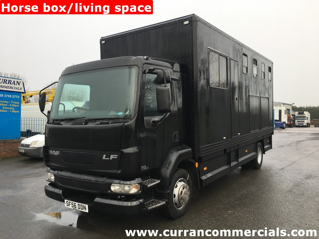 2006 Daf LF 55 170 13Ton Horse box/living space manual