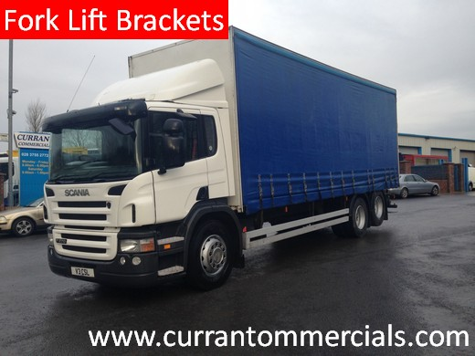 2006 scania p270 6x2 26ft curtainsider for sale